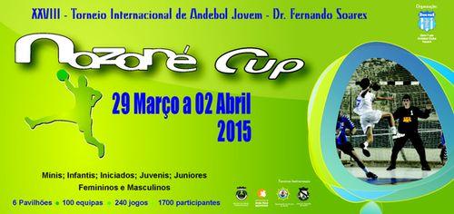 Cartaz XXVIII Nazaré Cup 2015