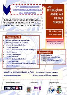 Cartaz Seminário Internacional do Porto