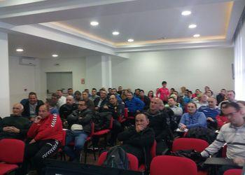 Curso de Treinadores na Macedónia - Carlos Garcia