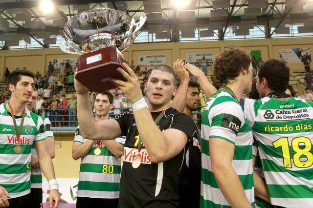 Sporting CP - vencedor Taça de Portugal 2012/13 - foto: A Bola