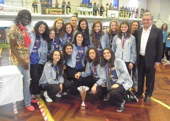 CS Madeira - Campeão Nacional Juvenis Femininos 2012/13