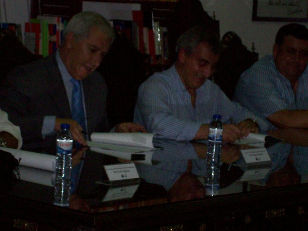 Assinatura Protocolo FAP e C.M. Sousel