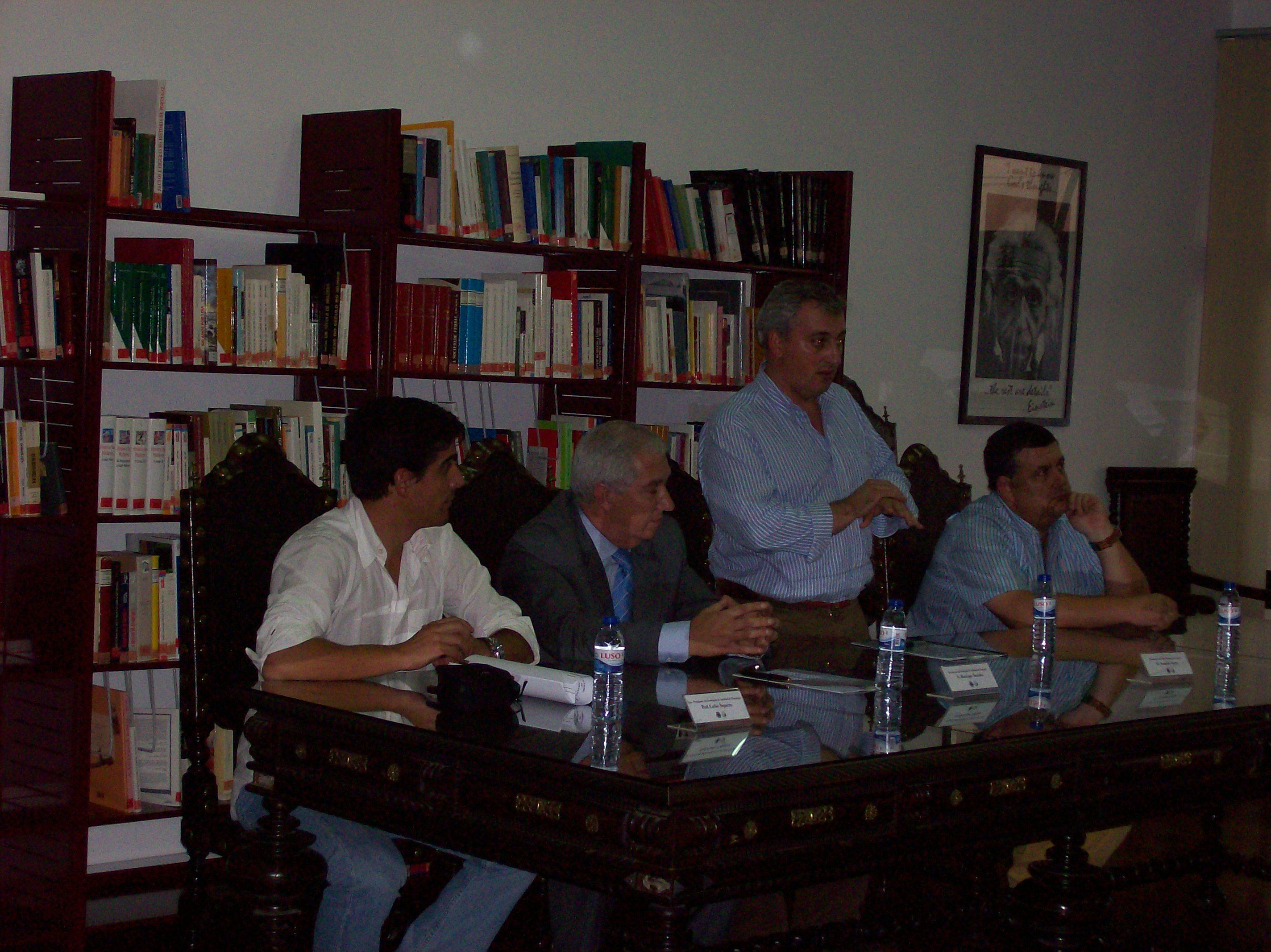Assinatura Protocolo FAP e CM Sousel