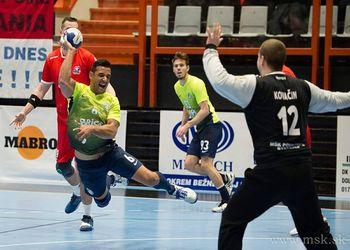 MSK Povazska Bystrica - Madeira SAD - Challenge Cup Masculina 2017-2018