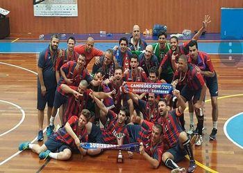 CF Sassoeiros é o Campeão Nacional de Seniores Masculinos da 3ª Divisão