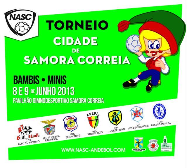"""Torneio """"Cidade de Samora Correia"""" - Minis e Bambis"""
