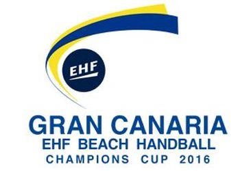 Logo Taça dos Campeões Europeus de Andebol de Praia 2016