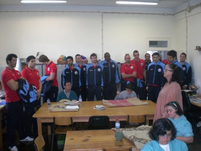 Visita da Selecção Nacional ao CAO Funchal 6