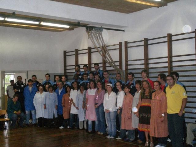 Visita da Selecção Nacional ao CAO Funchal 3
