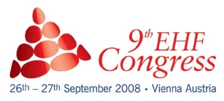 Logo 9º Congresso EHF
