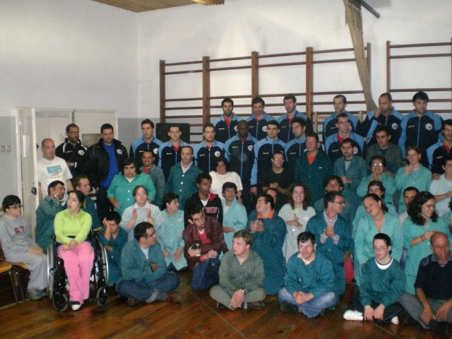 Visita da Selecção Nacional ao CAO Funchal