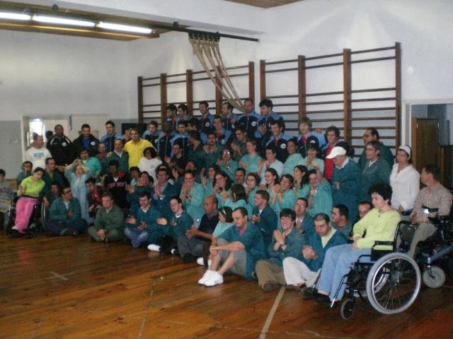 Visita da Selecção Nacional ao CAO Funchal 2