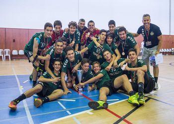 Colégio de Carvalhos - Campeão Nacional de Iniciados Masculinos - foto: Luis Guerreiro / CM Odemira