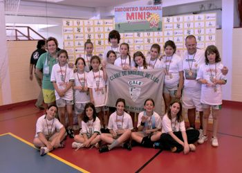 CA Leça vencedor Encontro Nacional Minis Femininos 2011/12
