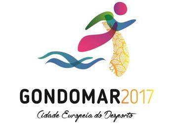 Logo Gondomar 2017 - Cidade Europeia do Desporto