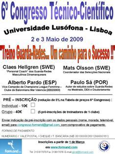 Cartaz 6º Congresso Técnico-Científico