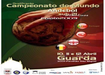 Cartaz Qualificação Sub21 Masculinos - 10 a 12 Abril, na Guarda