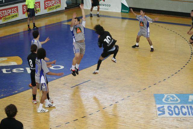 Fase Final CN 1ª Divisão Juvenis Masculinos - Belenenses : Espinho 25