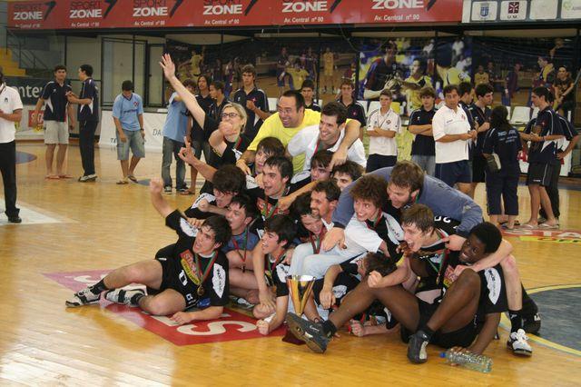 Fase Final Campeonato Nacional 1ª Divisão Juvenis Masculinos: ABC Campeão Nacional