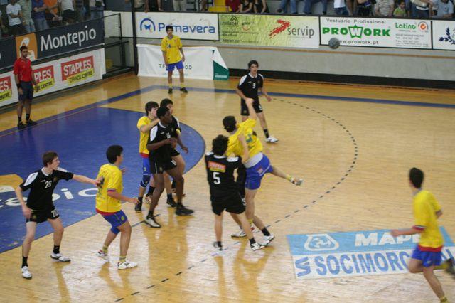 Fase Final CN 1ª Divisão Juvenis Masculinos - DF Holanda : ABC 22
