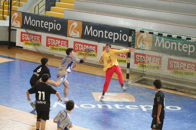 Fase Final CN 1ª Divisão Juvenis Masculinos - Belenenses : Espinho 19
