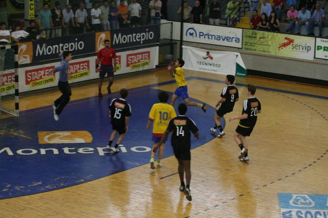 Fase Final CN 1ª Divisão Juvenis Masculinos - DF Holanda : ABC 24