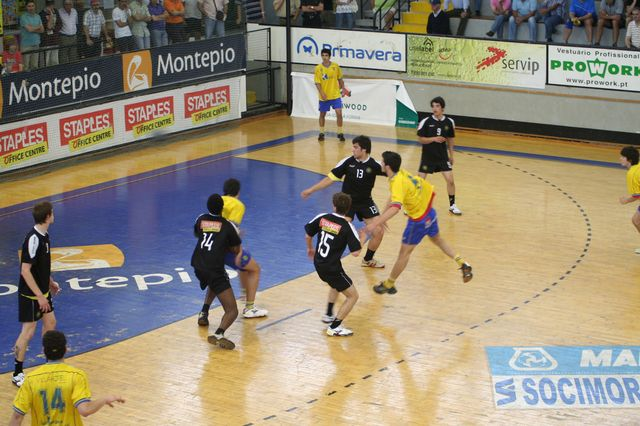 Fase Final CN 1ª Divisão Juvenis Masculinos - DF Holanda : ABC 11
