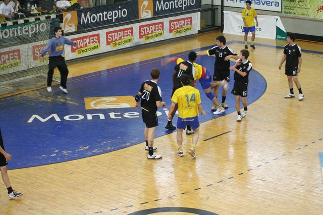 Fase Final CN 1ª Divisão Juvenis Masculinos - DF Holanda : ABC 17