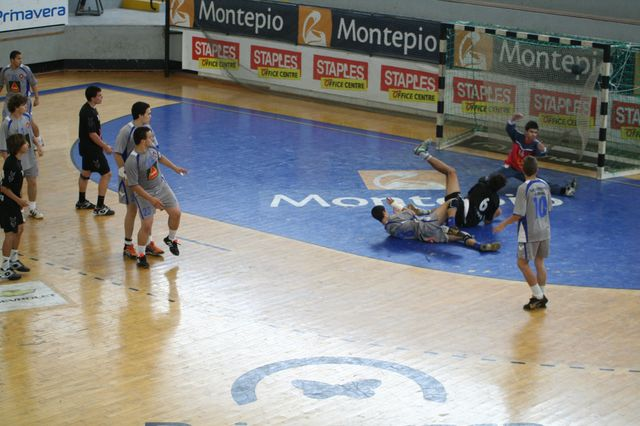 Fase Final CN 1ª Divisão Juvenis Masculinos - Belenenses : Espinho 45