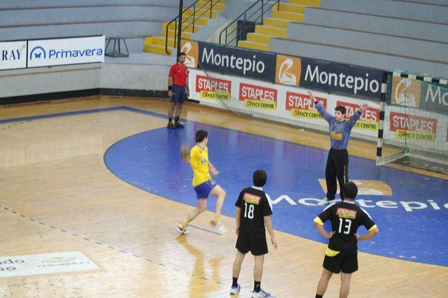 Fase Final CN 1ª Divisão Juvenis Masculinos - DF Holanda : ABC 45