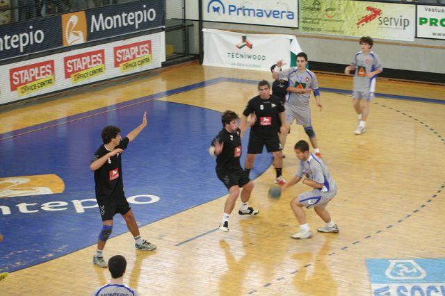 Fase Final CN 1ª Divisão Juvenis Masculinos - Belenenses : Espinho 54