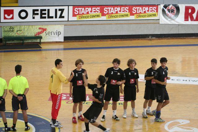 Fase Final CN 1ª Divisão Juvenis Masculinos - Belenenses : Espinho 1