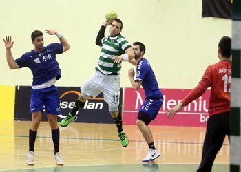 AC Doukas : Sporting CP - 1ª mão - 1/4 final Challenge Cup