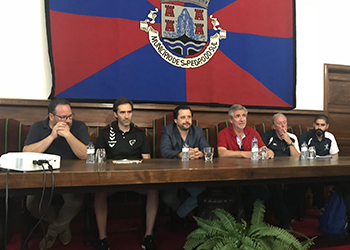 Seleção Sub-18 Masculina: Receção na Câmara de São Pedro do Sul - 11/07/2018