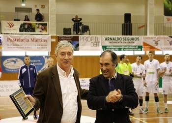 Ulisses Pereira e o presidente da Câmara de Moimenta da Beira