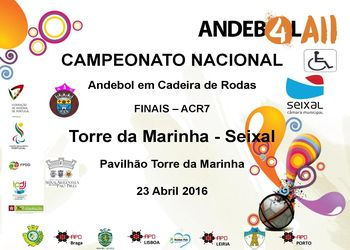 Cartaz Fase Final do Campeonato Nacional de ACR7
