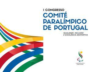 Logo 1º Congresso do Comité Paralímpico de Portugal