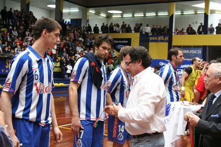 Entrega de Prémios Final Taça Portugal 2007/08 - FC Porto : ABC Braga Andebol Sad 3