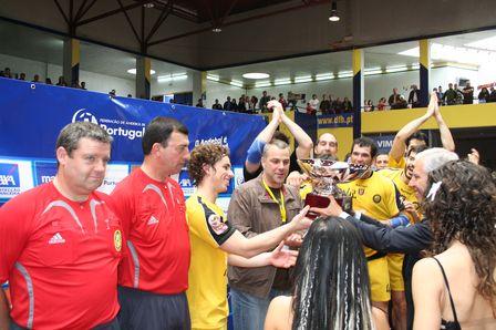 Entrega de Prémios Final Taça Portugal 2007/08 - FC Porto : ABC Braga Andebol Sad 7