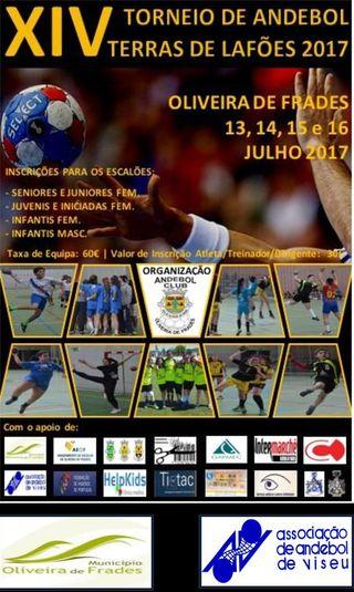 Cartaz - XIV Torneio Terras de Lafões 2017