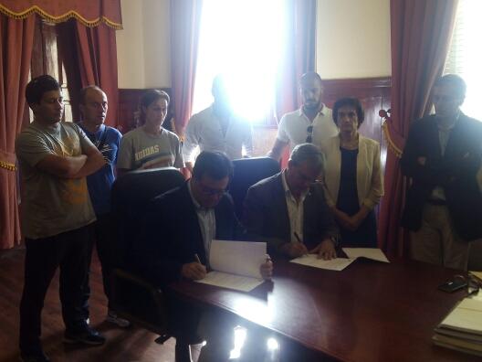 Assinatura do Protocolo de Colaboração entre a FAP e o Município de Vila Flor