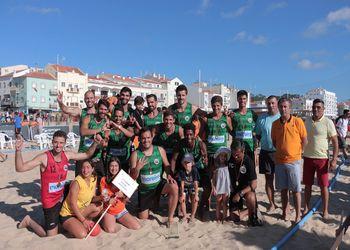 V.Gaw/C. Moreira - campeões nacionais de Andebol de Praia 2016 - Masters Masculinos - foto: Márcio Menino