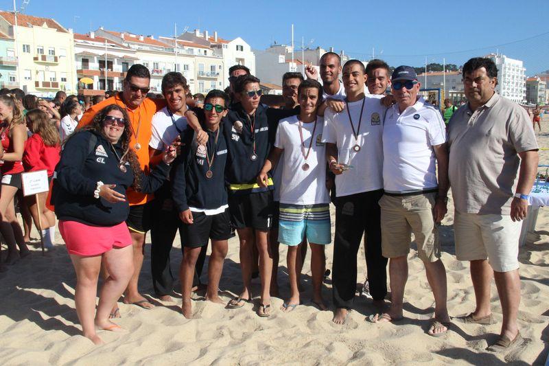 3º lugar Rookies Masculinos - Krillins - Fase Final Circuito Nacional de Andebol de Praia 2016 - foto: Luís Neves