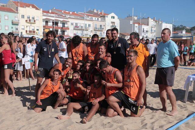 EFE Os Tigres - campeões nacionais de Andebol de Praia 2016 - Rookies Masculinos - foto: Márcio Menino