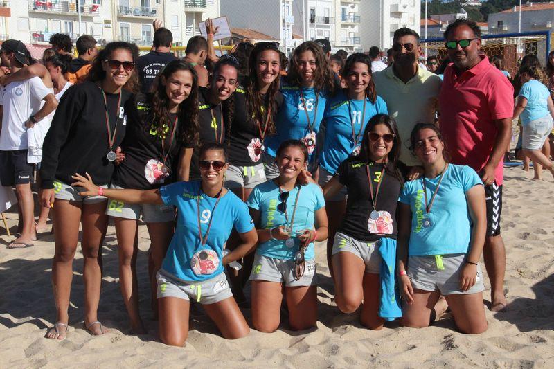 2º lugar Masters Femininos - Kempa Online - Fase Final Circuito Nacional de Andebol de Praia 2016 - foto: Luís Neves