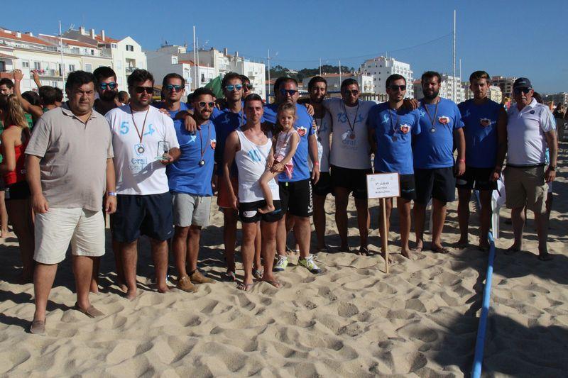 3º lugar Masters Masculinos - Porto Masters BHT - Fase Final Circuito Nacional de Andebol de Praia 2016 - foto: Luís Neves