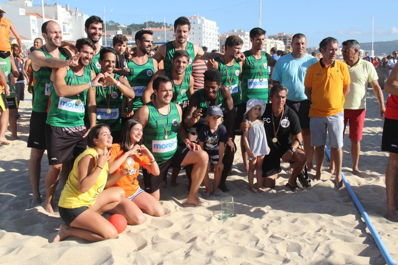 1º lugar Masters Masculinos - V.Gaw/ Congelados Moreira - Fase Final Circuito Nacional de Andebol de Praia 2016 - foto: Luís Neves