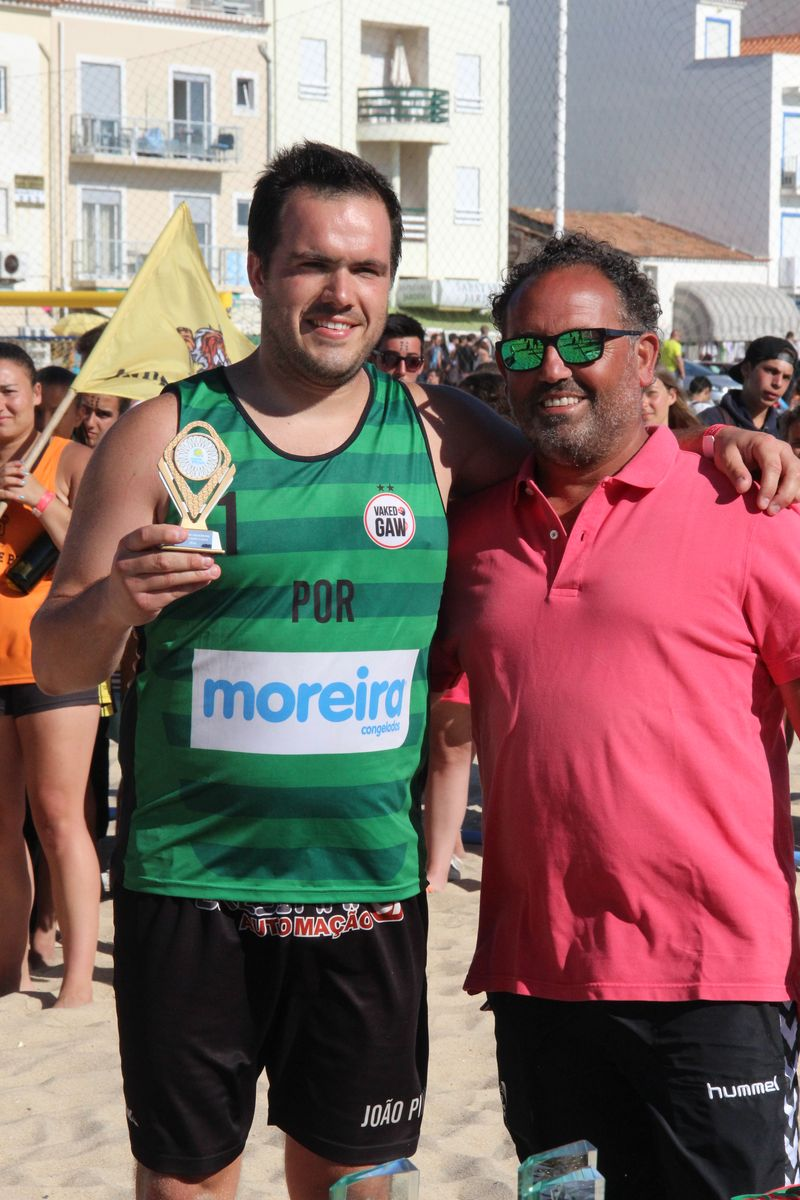 Melhor Guarda Redes Masters Masculinos - João Pinho (V.Gaw/C. Moreira) - Fase Final Circuito Nacional de Andebol de Praia 2016 - foto: Luís Neves