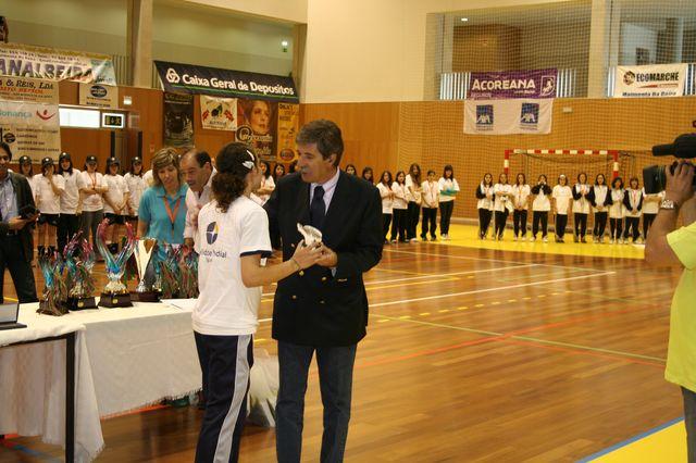 Fase Final Infantis Femininos, 7 a 10.06.2008 - Entrega de Prémios 18