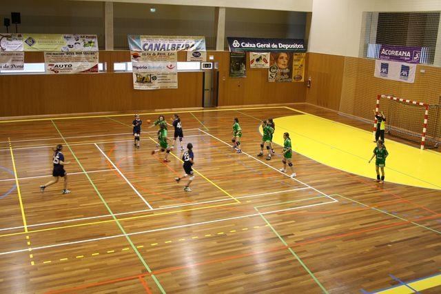 Fase Final Infantis Femininos, 7 a 10.06.2008 - CA Leça : JAC-Alcanena 10